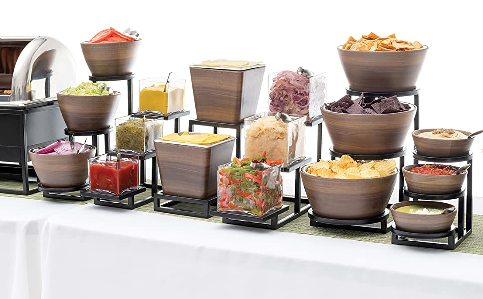 buffet catering displays how to set a buffet table