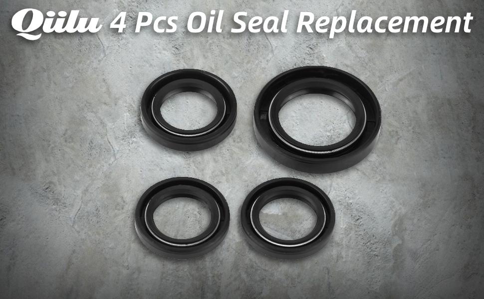4Pcs Engine Gear Crank Case Oil Seal for most GY6 125cc 150cc 152 QMI 157QMJ