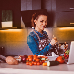 Cooking in Cozy Ambiance