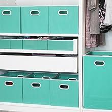 Turquoise in Closet