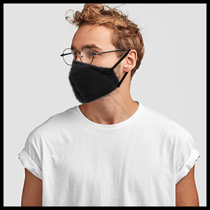 universal 4521 dust mask face mask cloth cotton reusable