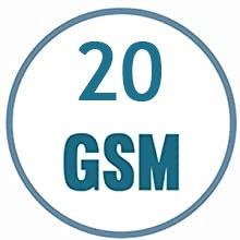 3 Ply Meltblown Filter Non-Woven Disposable Face Mask 25 GSM