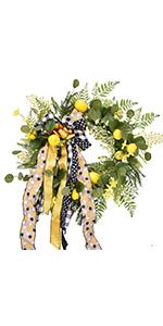 Lemon Hanging Wreaths