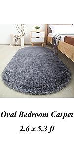 oval bedroom rug