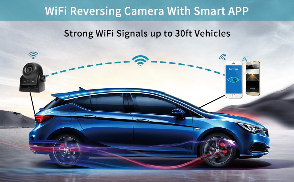 WiFi Reversing Camera With Smart APP
