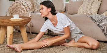 womens sport yoga shorts