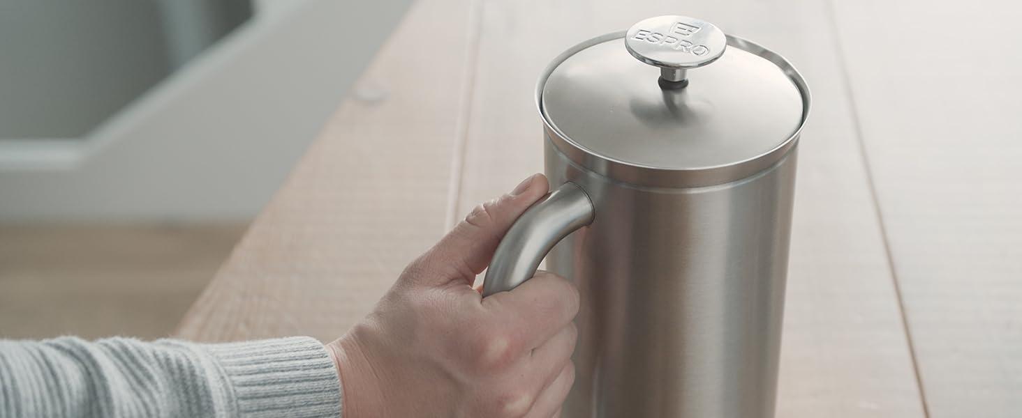 espro espresso french press coffee travel