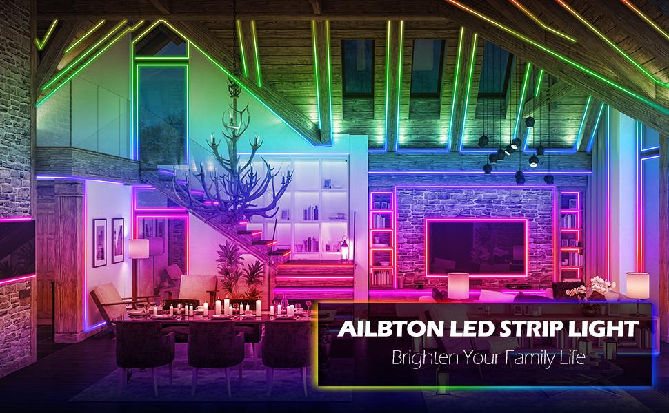 AILBTON LED STRIP LIGHT