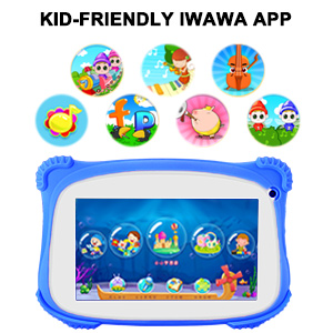 IWAWA App in kids android tablet