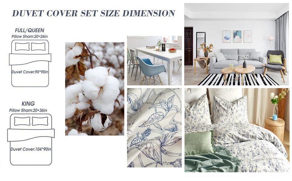 Floral Duvet Cover Set
