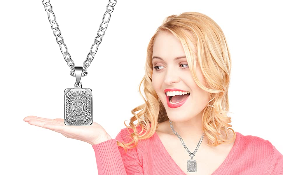 initial necklace for women