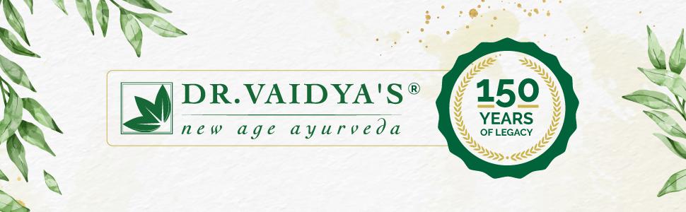 Dr. Vaidya's Logo Banner