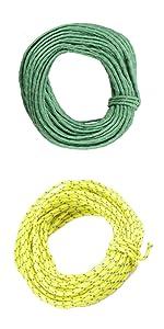 TRIWONDER Crochets en Aluminium Multifonctionnel Crochets de Tente en T Tendeur de Tente Crochets de Corde L/éger pour Tente B/âche Camping Randonn/ée