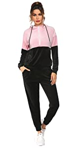 2 Piece Active Outfits Tracksuit