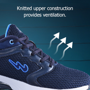 Knitted Upper Construction Provides Ventilation