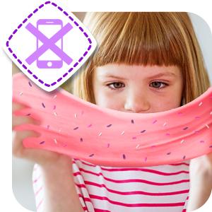 Ice Cream Slime Kit, DIY Slime. Slime for Boys and Girls, Glow In The Dark Slime, Craft Slime