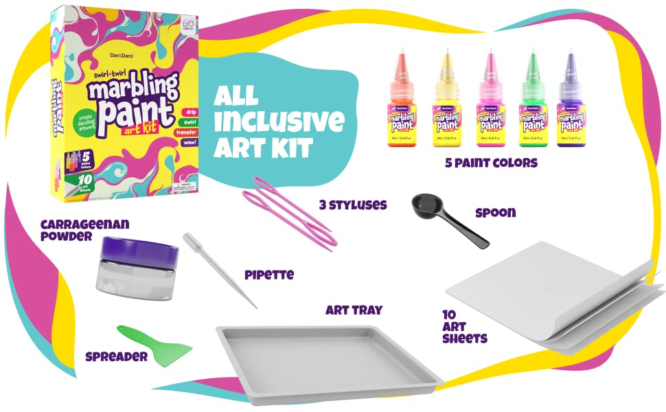 All inclusive art kit