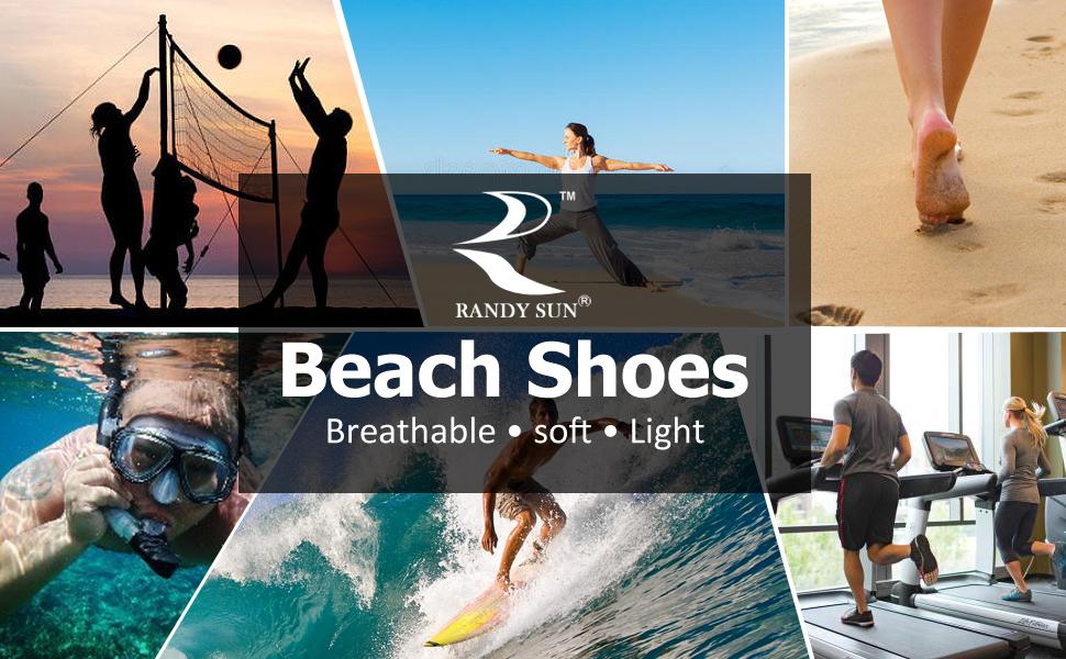 RANDY SUN BAREFOOT SAND BEACH WALKING VOLLEYBALL SOCKS
