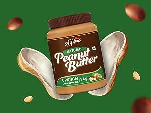 Natural peanut butter, alpino peanut butter, best peanut butter