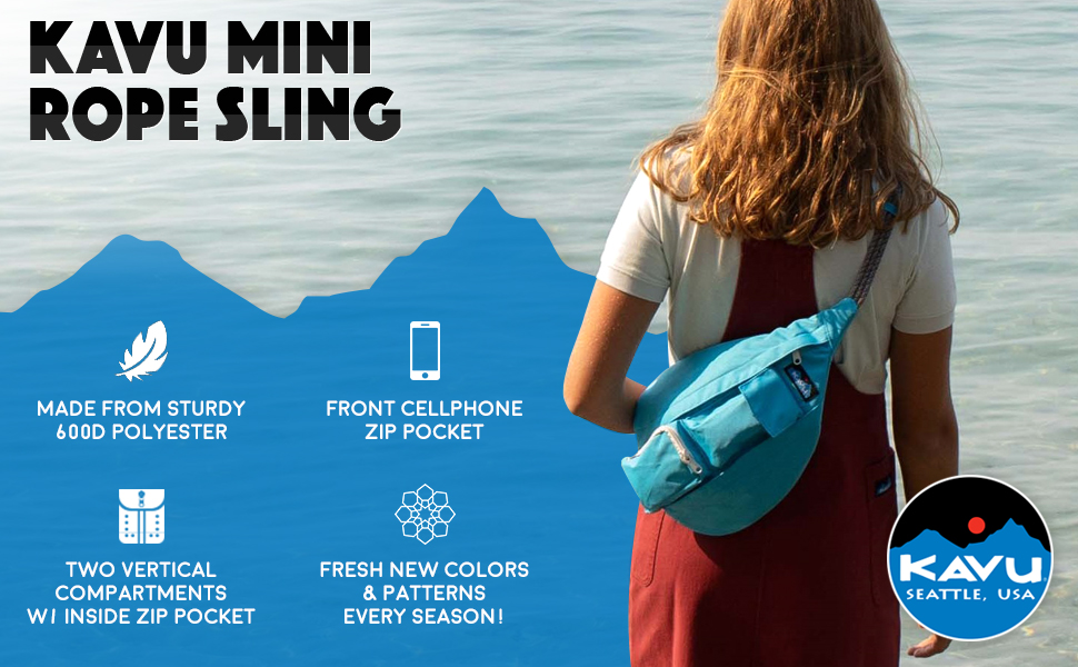 KAVU Mini Rope Sling Bag