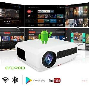 proyector wifi, proyector inalambrico, proyector cine en casa, proyector para presentaciones, 4k