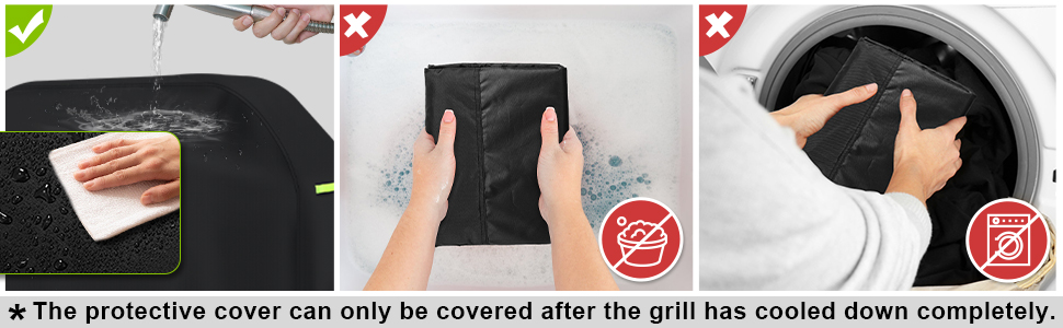 bbq stove protection cover  easy clean