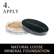 loose face powder foundation mineral coverage light control shine matte acne clean mattifying