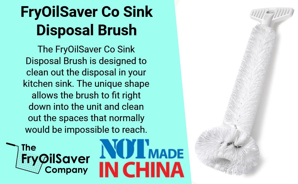 Brushtech B36c Drain Cleaning brush kitchen drain cleaner sink disposal brush