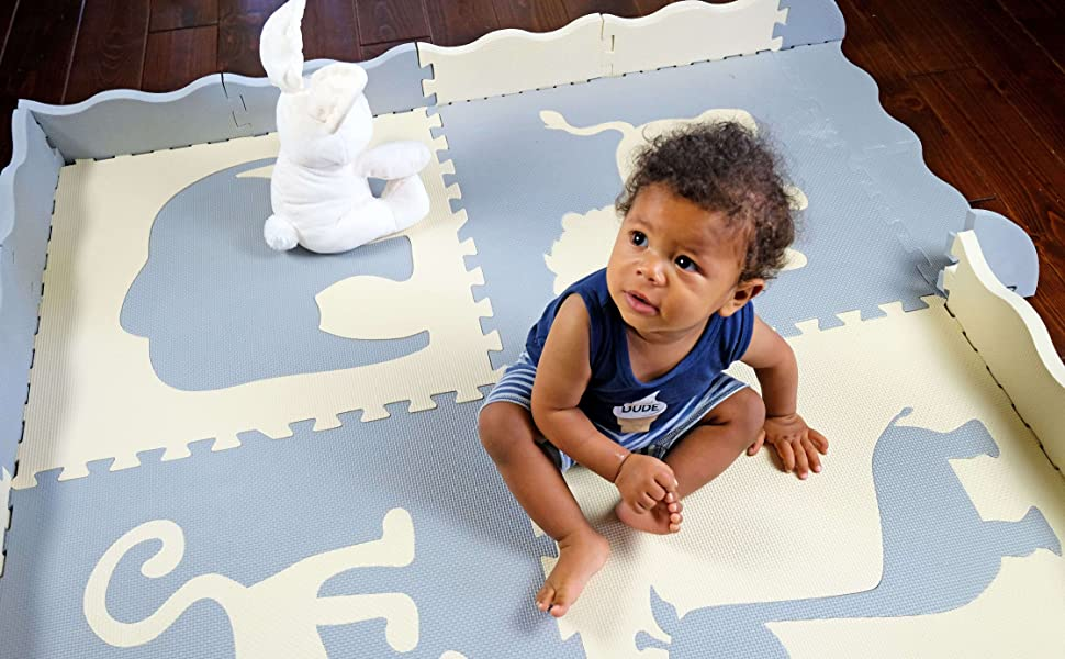 play mat large thick tile pices