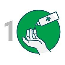 step 1 sanitizer hand sanitiser