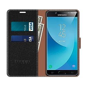 COODIO Funda Samsung Galaxy J3 2017 con Tapa, Funda Movil Samsung ...