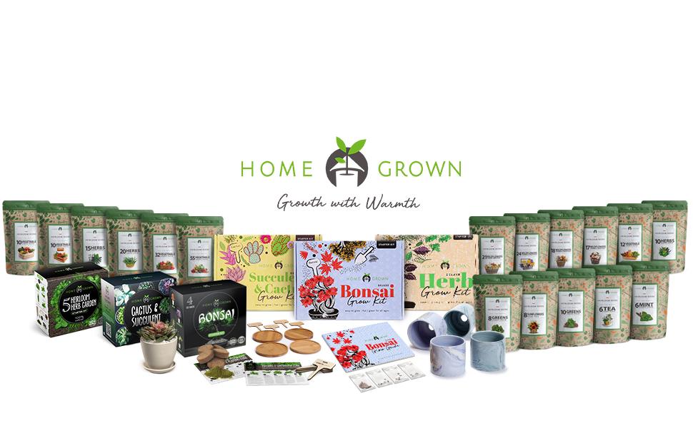 Home Grown, Heirloom Seeds