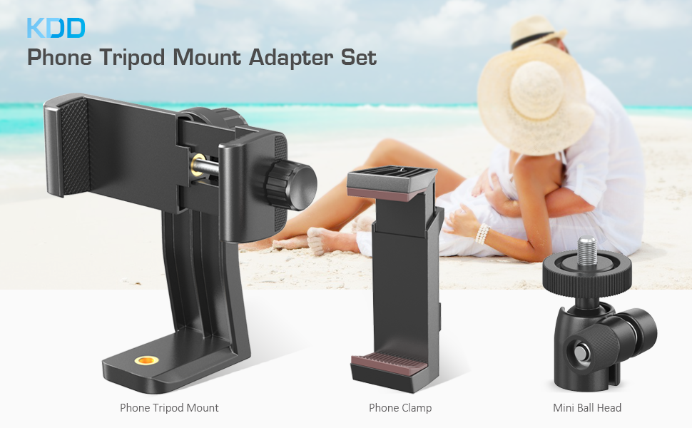 phone tripod mount adapter set
