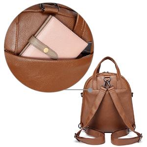 Anti-theft Back Zipper Pocket