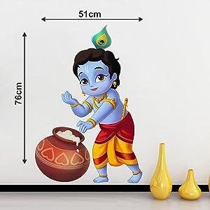 bal krishna wall stickers