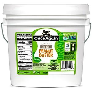 ONCE AGAIN PEANUT BUTTER crunchy organic 9lb