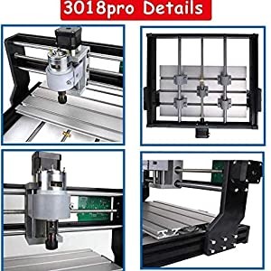 TOPQSC CNC Kit de machines Mise /à niveau de CNC 1610 Pro GRBL Kit de contr/ôle de routeur Routeur de bois Graveur 3 axes