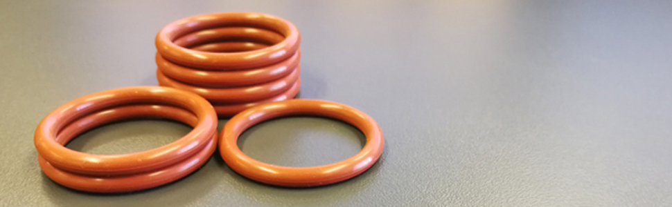 20mm Outside Diameter uxcell Silicone O-Ring 10PCS 2.4mm Width 15.2mm Inner Diameter VMQ Seal Rings Sealing Gasket Red