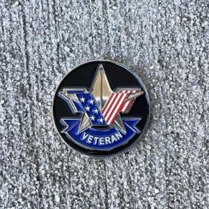 us military patriotic us american flag challenge coin lapel pin veteran service parade clasp
