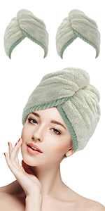 shower wrap for head
