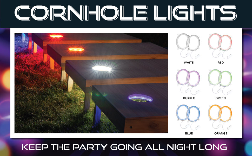 cornhole lights