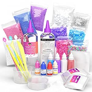 Unicorn Slime Kit, DIY Slimes, Slime for kids, Slime for girls, Gifts for Girls