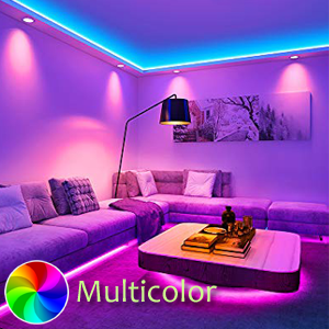 RGB Strip Light, IFITech Multicolor light, motion sensor light, Dimmable led light, Remote control