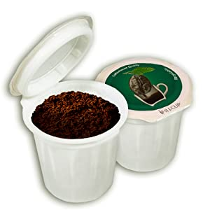 fill my own single serve coffee pods, recyclable coffee pods, fillable pods, refillable pods