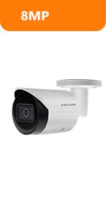 4k 8mp dahua poe ip camera bullet surveillance camera starlight security camera