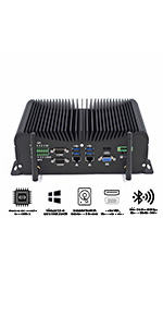 fanless industrial pc
