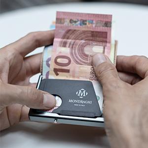 Miniwallet banconote