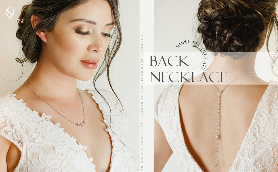 SWEETV Wedding Necklace