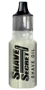 shave secret shave oil best shave ever bottle