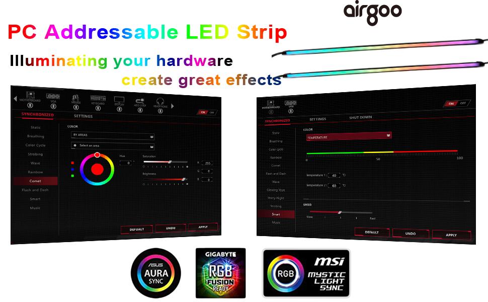 Neon Addressable LED Strip